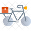 Bicycle Delivery Icon