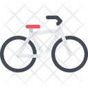 Bicycle Delivery Shipping Icon