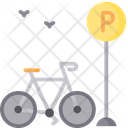 Bicycle Parking Bicycle Park Bike Icon
