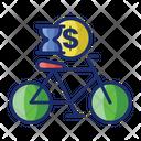 Bicycle Rental Rental Vehicle Rent Icon