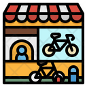 Bicycle Service Station Icon