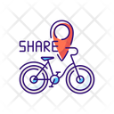 Bicycle Sharing System Icon
