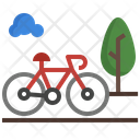 Bicycle Track Bicycle Cycling Icon