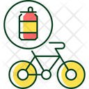Bicycle Recycle Steel Icon