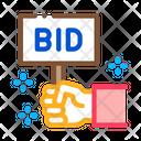 Bid Buying Selling Icon