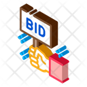 Bid Buying Selling Icon