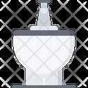 Bidet Toilet Bathroom Icon