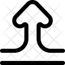 Bidirectional Transfer Up Arrow Icon