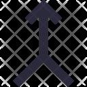 Bifurcation Road Icon