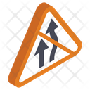 Bifurcation Road Alternative Road Roadway Icon
