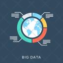 Big Data Globe Icon