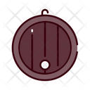 Big Barrel Barrel Beer Keg Icon