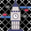 Big Ben Clock Tower Icon