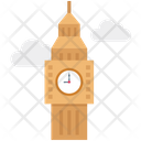Clock Tower Big Ben Monument Icon