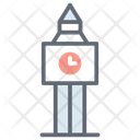 Clock Tower Clock Building Big Ben Icon