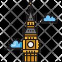Big Ben Clock England Icon