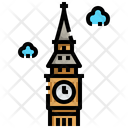 Big Ben London Landmark Icon