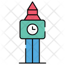 Big Ben Clock Tower Monument Icon