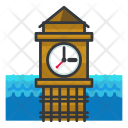 Big ben clock Icon