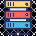 Big Data Data Hosting Data Server Icon