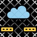 Big Cloud Data Icon
