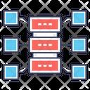 Dataserver Storage Server Big Data Icon