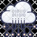 Data Analysis Cloud Icon
