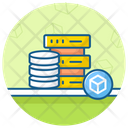 Big Data Data Architecture Shared Dataserver Icon