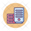 Mbig Data Big Data Database Icon