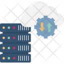 Big Data Cloud Computing Cloud Services Icon