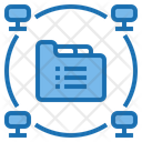 Big Data Blockchain Application Icon