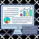 Data Analysis Big Data Big Data Analysis Icon