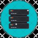 Datacenter Dataserver Data Storage Icon