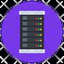 Server Room Datacenter Dataserver Icon