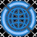 Big Data Database Network Icon