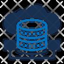 Big Data Data Server Data Storage Icon