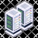 Dataservers Databases Data Centers Icon