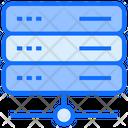 Big Data Server Hosting Icon