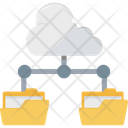 Big Data Cloud Database Cloud Network Icon