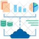 Big Data Data Science Data Science System Icon