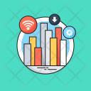 Big Data Bar Icon