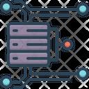 Big Data Analysis Technology Visualization Icon