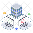 Big Data Processing Icon