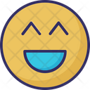 Big Grin Laugh Emoticons Icon