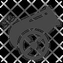 Big Gun Cannon Howitzer Icon