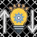 Big Idea Idea Development Idea Generation Icon