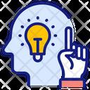 Big Idea Finger Hand Icon