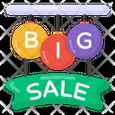 Sale Sign Big Sale Banner Sale Label Icon