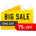 Big Sale Stamp Icon