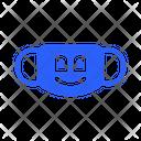 Big Smile Mask Virus Icon
